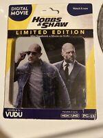 Fast & Furious Presents: Hobbs & Shaw Limited Edition Digital Mini SteelBook
