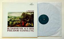 LP Orpheus Bläsermusik aus der Philidor-Sammlung  I  PIFFERI
