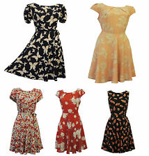 1940s Vintage Dresses for Women