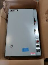 NEW General Electric Size 3 Combo Motor Starter 100 Amp 250 Volt Fused Type 1
