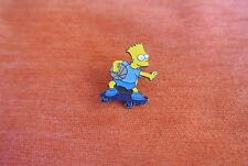 19891 PIN'S PINS THE SIMPSON'S BART SKATE