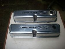 Ford Racing Tall Polished Valve Covers 289 302 351w hot rod rat mustang bronco