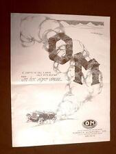 Pubblicità del 1924 Società Anonima Officine Meccaniche OM Fabbrica automobili