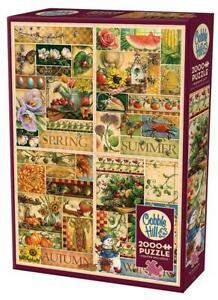 Cobble Hill Jigsaw Puzzle;  The Four Seasons;  Janet Stever;  2,000 pcs;  #89004