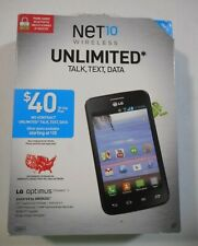 LG Optimus Dynamic II  Net10 Wireless Prepaid No Contract Cellular Smartphone