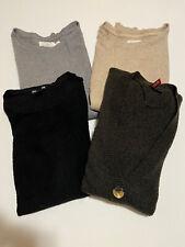 Lot of 4 Women's H&M Long Sleeve Sweater Cardigan Size S