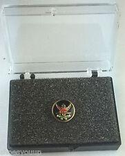 Masonic Rose Croix Order Gold Plated Enamel Lapel Pin Badge In Gift Box