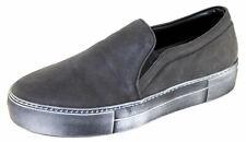 Spaziomoda Herenschuhe Shoe Slipper Slip-on Sneakers Gr.42 2126M schwarz