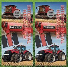 "New listing International Harvester Cornhole Wrap Decals Bag Toss 3M Vinyl 24x48"""