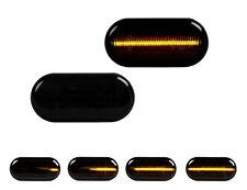 2 X LED SEITENBLINKER BLINKER SMOKE SCHWARZ Dacia Nissan Opel Renault