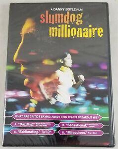 Slumdog Millionaire DVD Movie 2009 Widescreen New Sealed