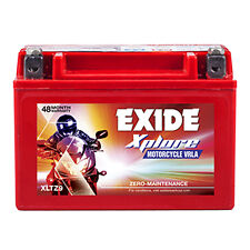 Exide Xplore bike battery XLTZ9 - No Maintenance - 48 Months Warranty