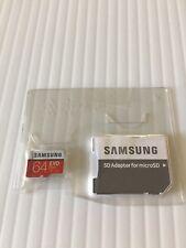 Samsung 64GB EVO Plus Micro SD SDXC 64GB Class 10 UHS U3 100MB/s 4K w/Adapter