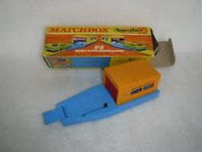 Lesney Matchbox Superfast SF-19 Double Action Opening Garage , Boxed