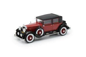 Esval Models Ltd Ed 1928 Cadillac 341A Town Sedan - red/black - 1/43 Resin Model
