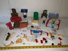 Vintage Lot Of Acme, Ideal, Renwal, Plasco & Other Doll Miniature Furniture