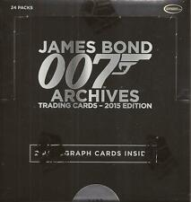 James Bond Archives 2015 Edition - Factory Sealed 24 Pack Box