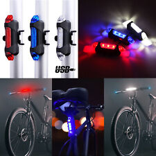 LED Bicicleta Luz Trasera Carga USB Noche Ciclismo de Advertencia Mano Derecha