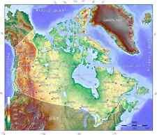 2017-2018 Canada TOPO map for Garmin GPS on microSD/SD (Topographic 50k to 20k)