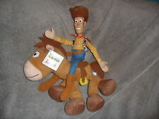 "Toy Story Woody bullseyesheriff Suave Juguete con Etiqueta Nuevo Disney Caballo 13"" X 13"""