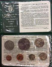 1980 new Zealand uncirculated coin set.