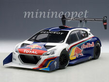 AUTOart 81354 RED BULL 2013 13 PEUGEOT 208 T16 PIKES PEAK RACE CAR 1/18