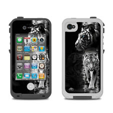 Skin for LifeProof iPhone 4/4S - White Tiger by Michael McGloin - Sticker Decal