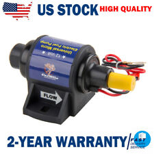 "12v External Fuel Pumps 4-7 PSI 35 GPH Electric Fuel Pump 5/16"" Inlet and Outlet"
