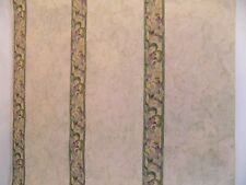 New Valley Forge Wallpaper Floral & Swirl Print on Neutral Background A653929