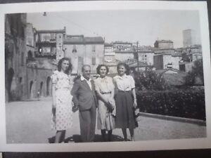 ALBUM PHOTOS ANCIENNES 1948  VOYAGE EN ITALIE PHOTOS + CARTES POSTALES
