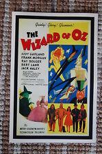 The Wizard of Oz #3 Movie Lobby Card Poster Rialto Judy Garland Frank M