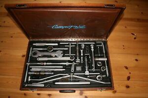 Campagnolo großer Werkzeugkoffer, aus Sammlung  VINTAGE Retro  TOP Zustand