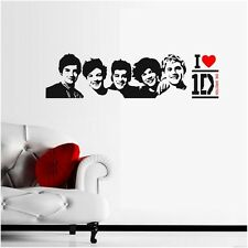 One Direction 1D Removable Wall Stickers Wall Decals Wall Decor Vinyl Art Mural