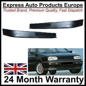 Front Bumper Spoiler Chin Splitter set GTI & VR6 STYLE Pair VW Golf Mk3