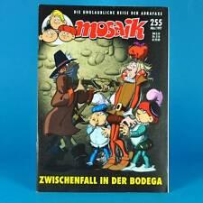 Mosaico Abrafaxe 255 | marzo 1997 | DDR DA COLLEZIONE b1 | tra caso nella Bodega