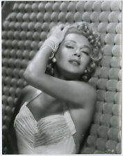 Gorgeous Hollywood Glamour Girl Lana Turner 1958 Original Portrait Photograph
