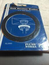 "New Plumb Works Sink Strainer Washer 3-1/2"" SL2265"