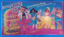 VINTAGE BARBIE DANCE CLUB DANCE TIME SHOP SET IN BOX