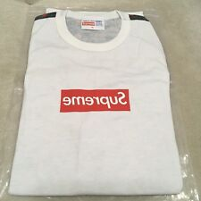 Supreme CDG Box Logo Tee XL Red/White S/S 2013 New