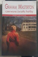 CZERWONE SWIATLO HANBY - Graham Masterton | Paperback 2017 | Polish book