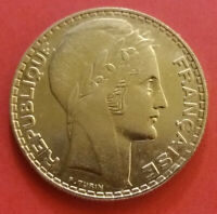France  silver Coin - 1934 - 10 Francs