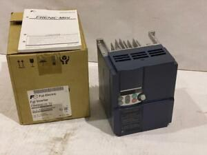 FUJI 3 HP VFD INPUT: 230VAC1 PH. / OUT: 230VAC 3 PHASE   IP20  #FRN003C1S-7U