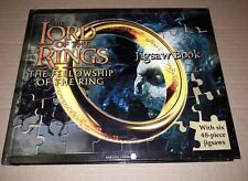 The Lord of the Rings The Fellowship of the Ring Jigsaw Book