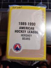 1989-90 Pro Cards AHL Hershey Bears Hockey Team Set Sealed