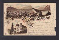 Kramsach .. von Kramsach nach Mühlau (Stempel) ... 1893