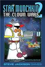 Star Munchkin 2: The Clown Wars Card Game Expansion From Steve Jackson Games