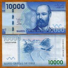 Chile, 10000 (10,000) Pesos, 2012 (2014), P-164-New, UNC