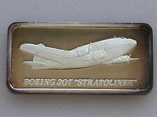 1976 Hamilton Mint Boeing 307 Stratoliner HAM-676 Silver Art Bar D2210