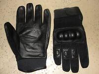 paire de gants coqués cuir / tissus taille XL ( 10 )