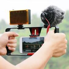 Movie Video Making Rig Set System Kit for Smartphone LED Light Microphone